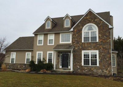 Stone Siding and roof replacement